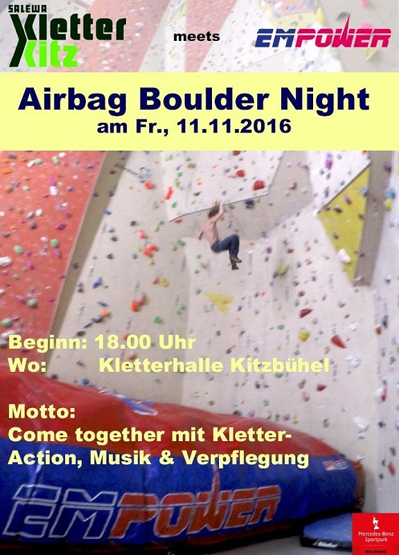 Airbag Boulder Night