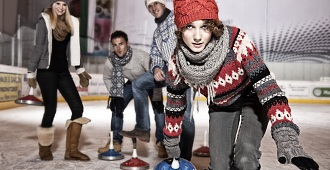 Curling - a popular stock sport